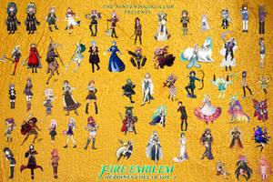Fire Emblem Heroines Collaboration Volume 2 by Enlightened-Titan