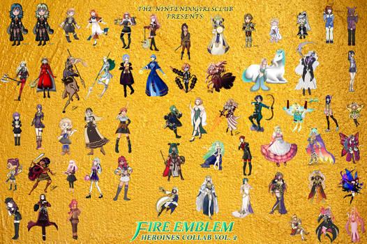 Fire Emblem Heroines Collaboration Volume 2
