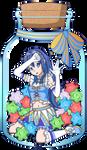 Lucina in a Konpeito Jar by Enlightened-Titan