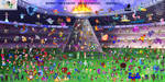 Tokyo 2020 (or 2021) Nintendolympics Collaboration by Enlightened-Titan