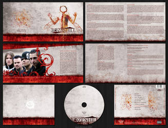 Rozenhill CD Package by shadedfactory