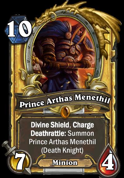 Neutral Legendary - Prince Arthas Menethil - Fan Creations ...