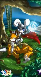 Two Heroes: final design by Ryanide