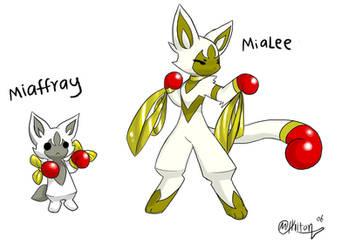 Fan Pokemon-Miaffray by Ryanide