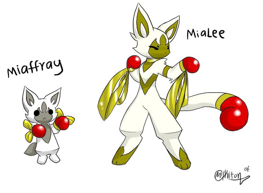 Fan Pokemon Miaffray By Ryanide On Deviantart