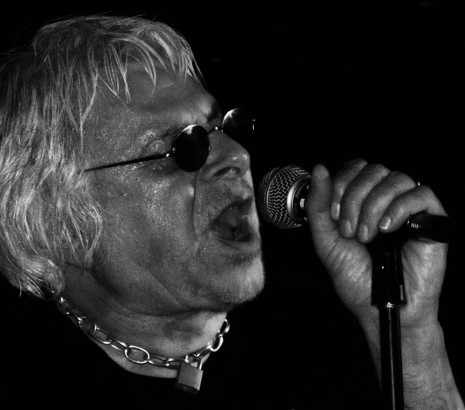 Charlie Harper - UK Subs by Pins-n-Feathers
