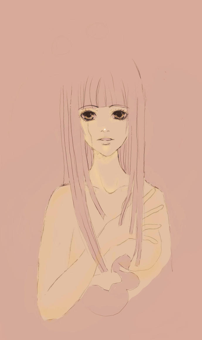 Main Protagonist 'Amber' by RabuKanI