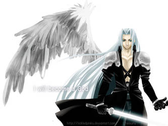 One winged angel complete by tickledpinky