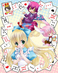 Alice in Wonderland by tickledpinky