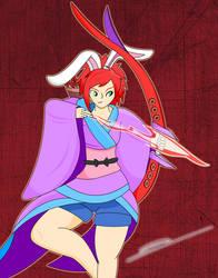 Yumi, The Skilled Archer (Secret Santa Commission)