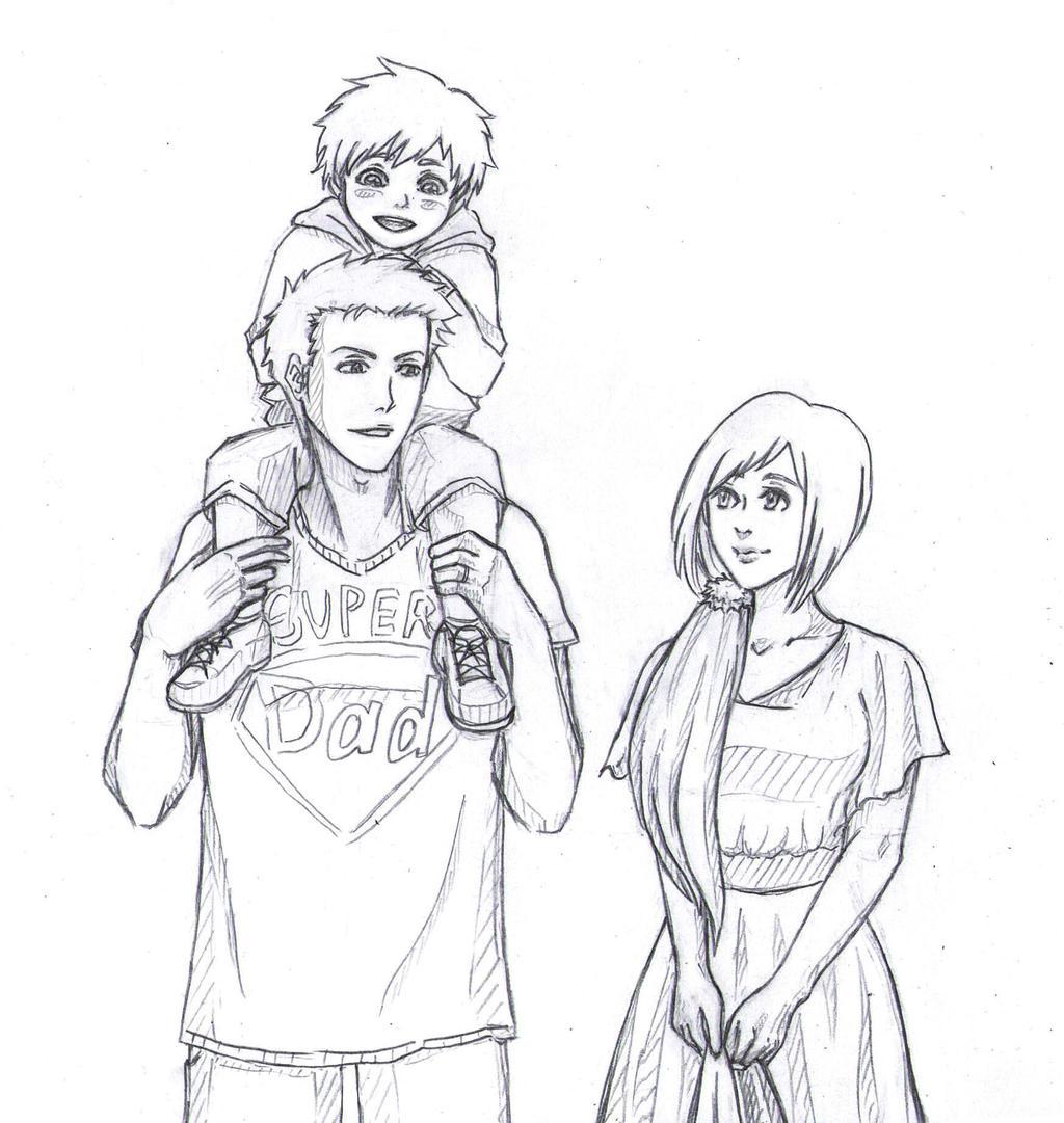 Sketch. Kurosaki Family By Minika-Ryun On DeviantArt