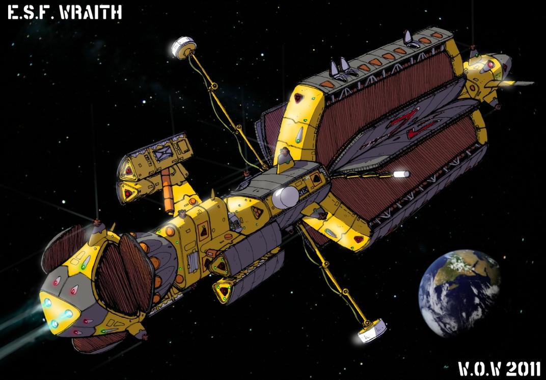 ESF Wraith by wingsofwrath