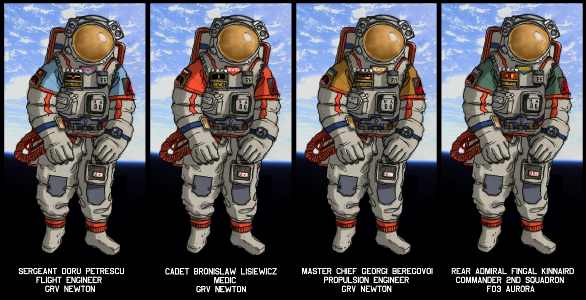 Gravity space suits by wingsofwrath on DeviantArt