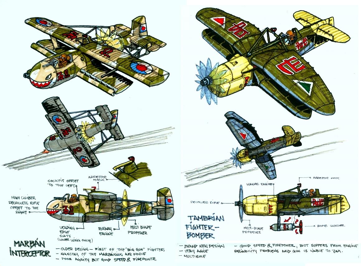 Inner Space fighter designs by wingsofwrath