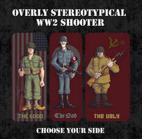 Overly Stereotypical WW2 Game by wingsofwrath