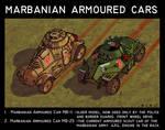 Marbanian Armoured Cars