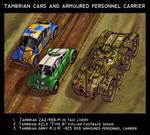 Tambrian cars and APC