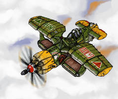 Ol'Salty by wingsofwrath