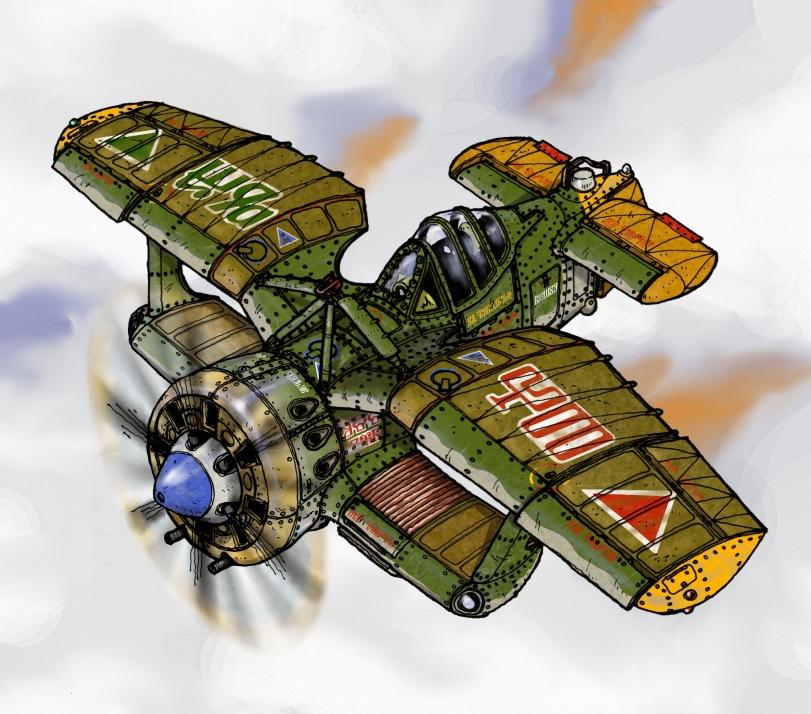 Tambrian Aircraft II by wingsofwrath