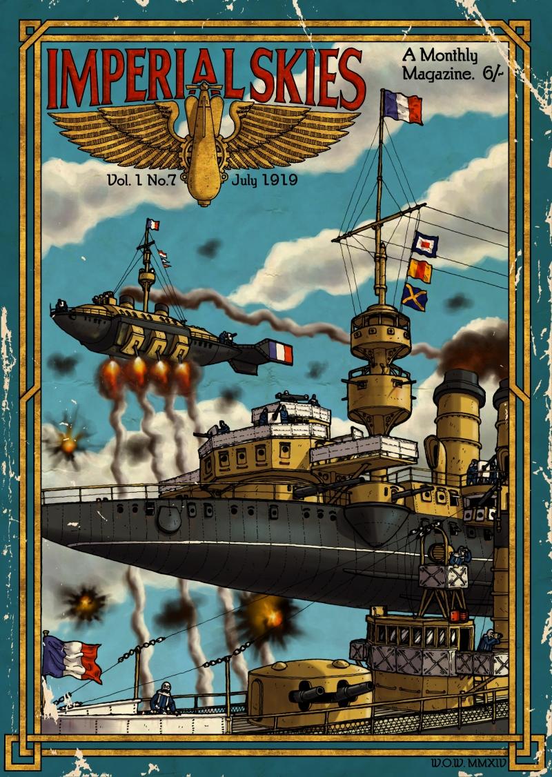 Imperial Skies Cover by wingsofwrath