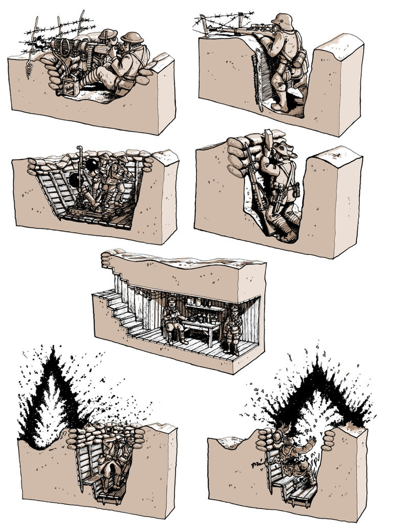 Tommiez vignettes by wingsofwrath