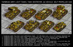 Tambrian Light Tanks