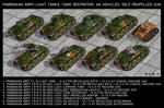 Marbanian Light Tanks