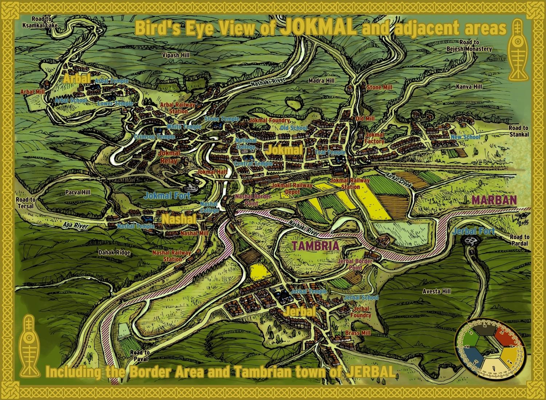 Jokmal Tourist Map by wingsofwrath