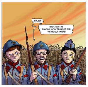 Comic Tropes Fanart