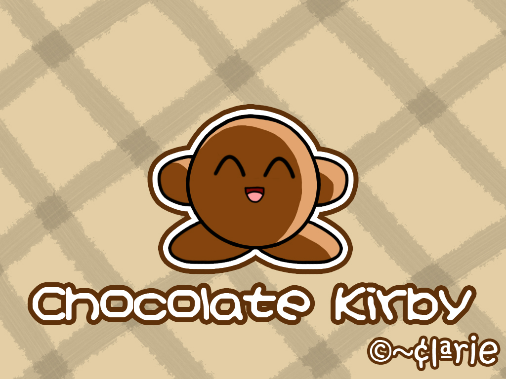 chocolate kirby by clariecandy on deviantart. Black Bedroom Furniture Sets. Home Design Ideas