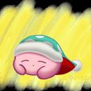 Sleep Kirby by clariecandy