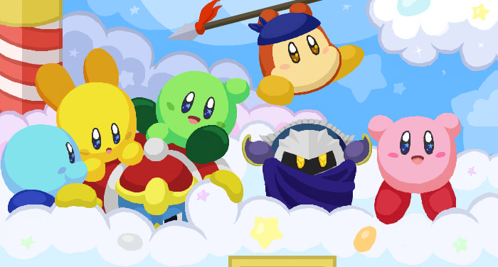 Kirbys return to dreamland by clariecandy on deviantart kirbys return to dreamland by clariecandy voltagebd Image collections