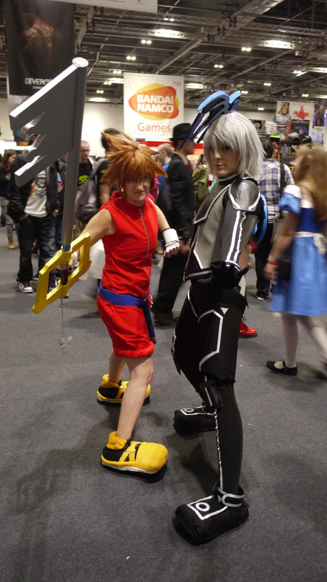 Riku and Sora by clariecandy