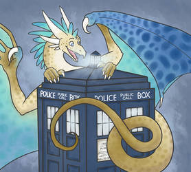 The Dragons Have The Phonebox