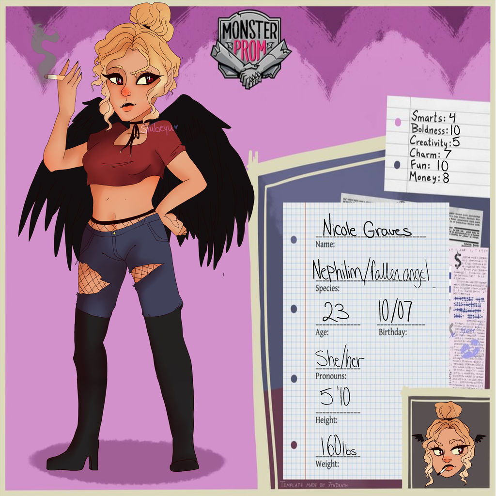 Nicole Graves Monster Prom Oc By Shibeyu On Deviantart This recognises and celebrates the commercial success of music. nicole graves monster prom oc by