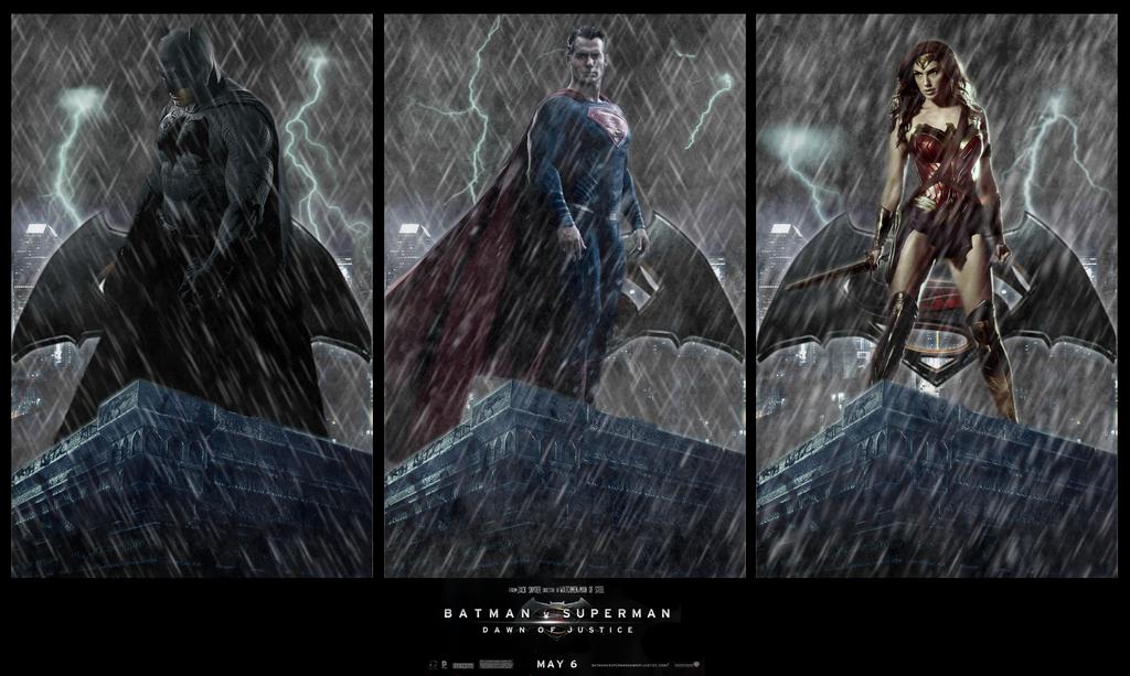 Batman v Superman TRINITY Wallpaper by RedHood2913
