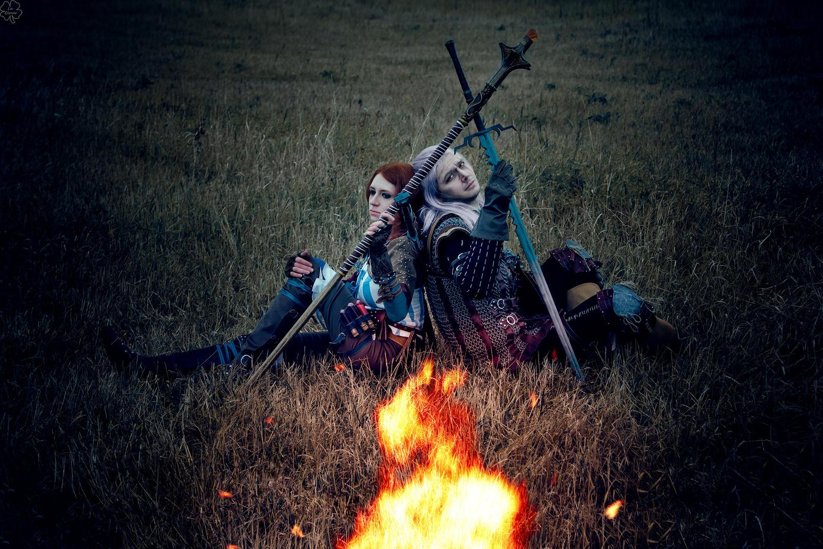 Campfire by La-Clover