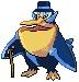 Sir Gentleman Pelican-Penguin by EmmiEmmz