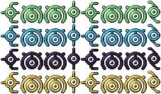EmmiEmmz Unown Colours by EmmiEmmz