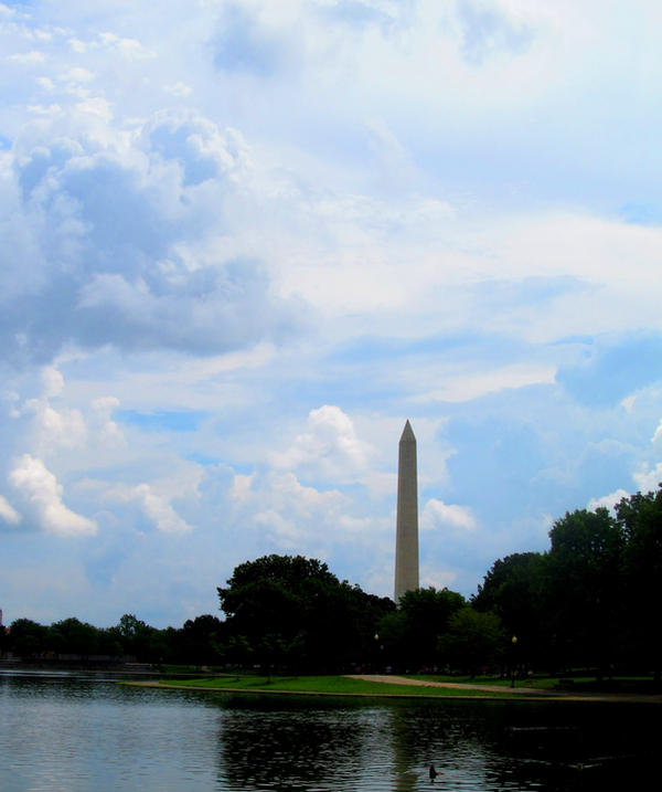 Washington Monument by AliceN101