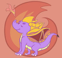 Stubborn Little Dragon by Fuposey