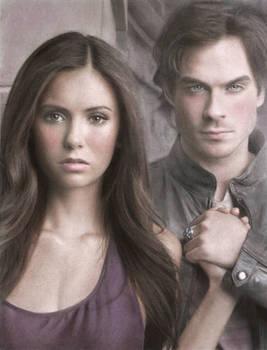 Elena+Damon - Vampire diaries