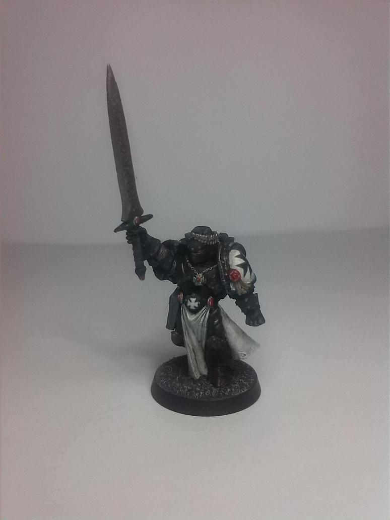 Black Templar Champion - Warhammer 40K by EdgarValerio