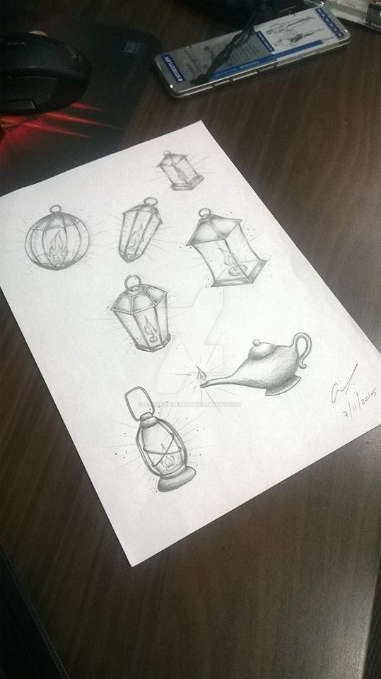 lamps by EdgarValerio