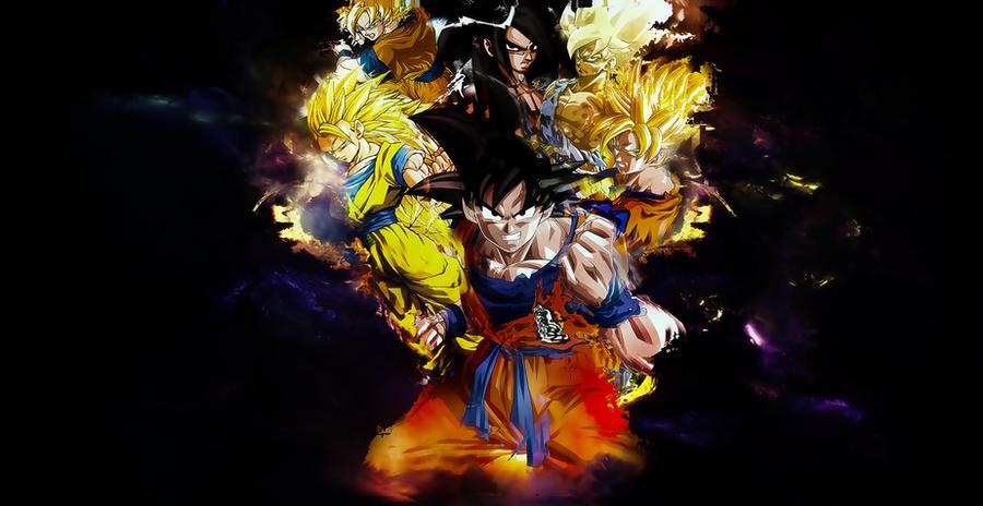 son goku wallpaper  Dragon Ball [Son Goku] Wallpaper by OneBill on DeviantArt
