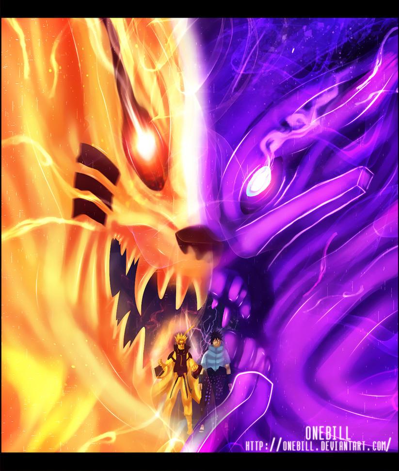 Naruto 650 : Lest Go Sasuke! by OneBill