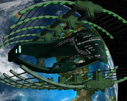 Romulan Drydock by archangel72367