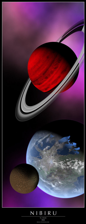 Kerberos Moon Of Plluto: NIBIRU By Archangel72367 On DeviantArt