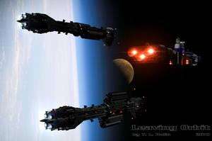 Leaving Orbit by archangel72367