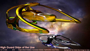 High Guard Ships of the Line